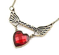 Mode coréenne amour chaîne de chandail amour - l'amour ailes ailes creuses N411