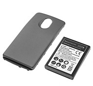 Black Hard Case with Battery for Samsung Nexus I9250