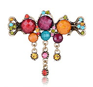 Women's Rhinestone/Alloy Headpiece - Casual Hair Pin