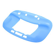 Blue Silicone Soft Skin Case Gel Cover For Nintendo Wii U Gamepad