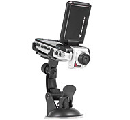 2.5 Inch LCD 1080P Wide Angle 16MP Car DVR Camcorder LED Light AV-Out SD HDMI
