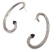 European And American Punk Retro Nightclub Exaggerated Personality Snake Snake Wrapped Earrings Earrings Earrings E110