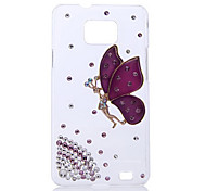 Spirit Butterfly Back Case for Samsung Galaxy S2 I9100