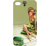 New Technology caldo di vendita 3D copertura della cassa del telefono cellulare colorato scultura per iphone4/4s 18