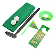 Mini Toy Potty Putter Toilet Golf Set