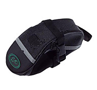 High Quality Polyester Cloth Material Bicycle Saddle Seat Tail Bag - Black