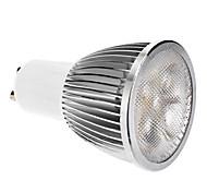 GU10 5W LED 400LM 3000-3500K LED-spotglödlampa med varmt vitt ljus (85-265V)