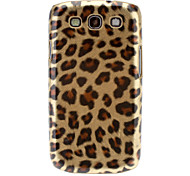 Leopard Printing Hard Case with Screen Protecter for Sumsung Galaxy S3 I9300