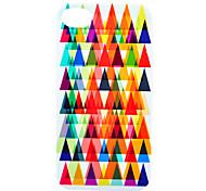 Colorful Triángulo de nuevo caso para el iPhone 4/4S