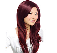 Capless High Quality Synthetic Short Straight Brown Beautiful Hair Wigs