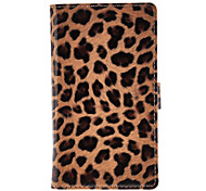Leopard Print Full Body Protective Case for Sony S39h ((Xperia C)