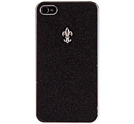 Schimmerndes Puder mit elegantem Spearhead Hard Case für iPhone 4/4S (Optional Farben)