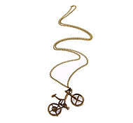 European and American jewelry retro sweater chain necklace N223 bicycle