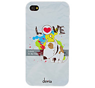 DEVIA In Love Hard Case PC de modèle Puppy pour iPhone 4/4S