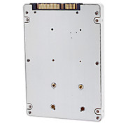 SATA 2.5 Male to mSATA Male 9.5mm Hard-disk Cartridge