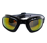 Black Collapsible Skiing Goggles