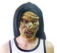 Увядшие и желтый монстр маска с крышки головки для Хеллоуин костюм участника