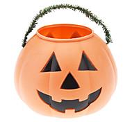 Plastic Pumpkin Bucket (Large)