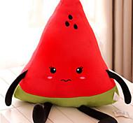 Cartoon Shy Miss Watermelon Design Pillow