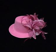 Women's / Flower Girl's Silk Headpiece Flowers