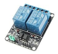 Высокий уровень триггера модуль реле 2 канала 5В для (для Arduino) (работает с официальным (для Arduino) плат)