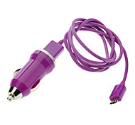 Purple Micro USB Cable Charger for Samsung ,HTC Mobile and Others (Assorted Colors)