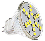 3W GU4(MR11) Focos LED MR11 18 SMD 2835 230 lm Blanco Fresco DC 12 / AC 12 V