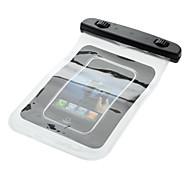 Водонепроницаемый чехол для сотового телефона / MP3 / MP4 / Цифровые камеры - прозрачный + черный