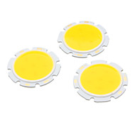 3W 3000K Licht Runde COB Super Bright LED SMD Chip