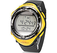 Da uomo Guarda Digitale Orologio sportivo LCD / Calendario / Cronografo Banda