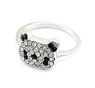 Fashion Small Panda Ring