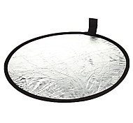 60cm 2 in 1 Gold Silver Illuminator Reflector (Gold)