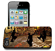 Hip-hop Pattern 3D Effect Case for iPhone5