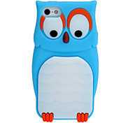 Owl Silicone Sleeve Case for iPhone 5