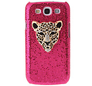 Leopard Panther Rhinestone Pattern Hard Back Case Cover for Samsung Galaxy S3 I9300
