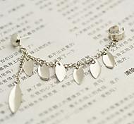 (1 Pc) Fashion Retro Mashup Style Clip Earrings