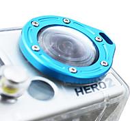 En alliage d'aluminium bague de l'objectif pour GoPro Hero2