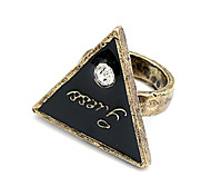 Triangle Fashion Exquisite Personality Ring Jewelry