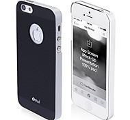 protector mate clásico ultra delgado estuche rígido para el iphone 5/5s