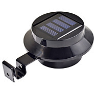 Настенные светильники на солнечной энергии для сада, с тремя лампами