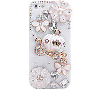 Pumkin Car Jewelry Covered Back Case for iPhone 5/5S(Assorted Color)