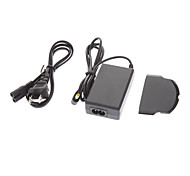 EU Plug AC Power Adapter / Charger with Battery Door for PSP 1000 / 2000 / 3000