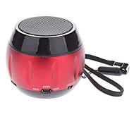 Тыква Дизайн Micro SD / TF Мини спикер Музыка с Mini USB Port/3.5mm разъем (красный)