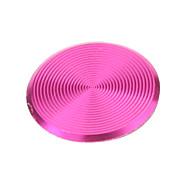 Spiral Estilo Rosa Botão Início Alloy adesivos para iPhone / iPad / iPod