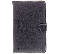 Faerie funda protectora Feature PU de cuero con interior Keyborad & U para 7 pulgadas Tablet PC