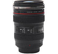 Camera Lens Coffee Mug with Cover