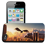 aquila modello caso effetto 3d per iphone5