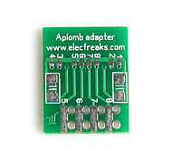 Aplomb-Boards SOIC8 Adapter Board for (For Arduino) (Works with Official (For Arduino) Boards)
