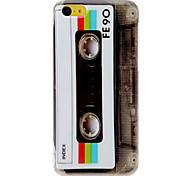 Vintage Tape Pattern Hard Case for iPhone 5C