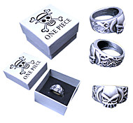 One Piece Portgas D. Ace Skull Bague allié